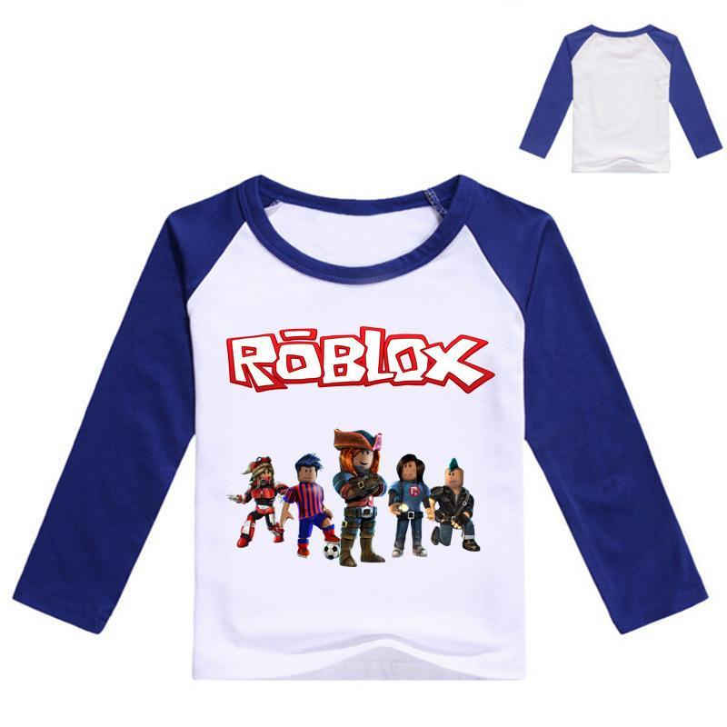 fdc3cad75 Compre 2019 Otoño Camiseta De Manga Larga Para Niñas Roblox Camisa Blusa  Amarilla Para Niños Camiseta De Algodón Camisa Deportiva Traje De Roblox  Para Bebé ...
