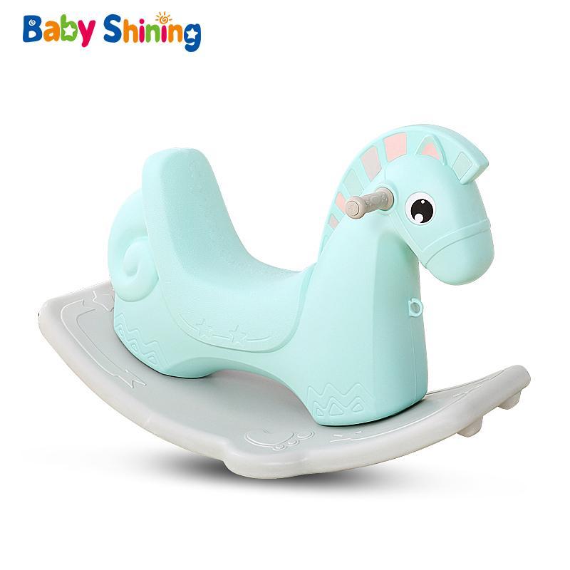 Juguete Rocking Horse Ejercicio Equilibrio Para Interior 1 Troya Niños Mecedores Juguetes Bebé Juegos Shining Caballo De 6y Pnk80wOX
