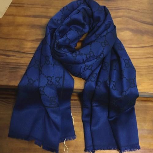 601789af marca de buena calidad 50% seda 50% material de cachemira letras de  impresión patrón bufandas largas para las mujeres tamaño grande 180 cm - 90  cm