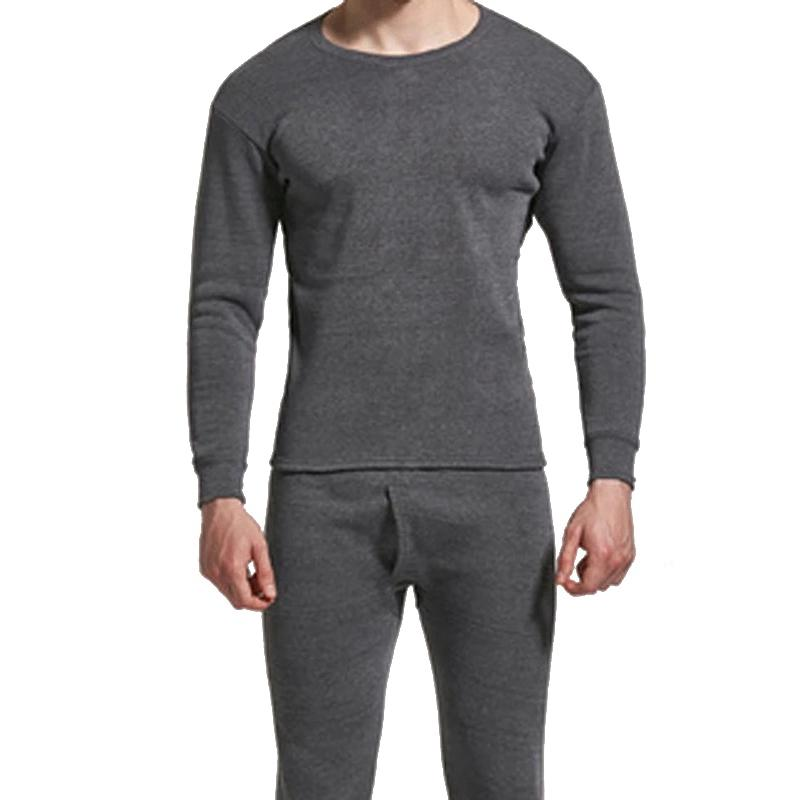 ed891ad7a129 2019 Hot Sale Winter Thermal Underwear Sets Long Johns Set For Men Winter  Long Johns Thick Men Thermal Underwear Sets Clothing From Longan08, ...