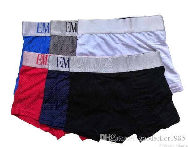 6e333ca74740 2019 Mesh Designer Mens Underwear Boxer Brief Shorts Luxury Breathable  Designer Youth Funny Fashion Modal Sexy Boxer Soft Male Penis Boxer Red  From ...