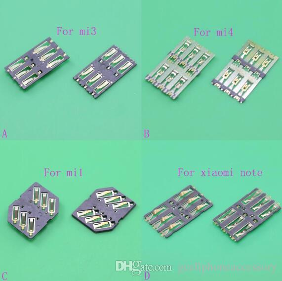 For Xiaomi 4 MI 3 sim card for Nokia 520 sim card holder reader tray slot socket replacement module.