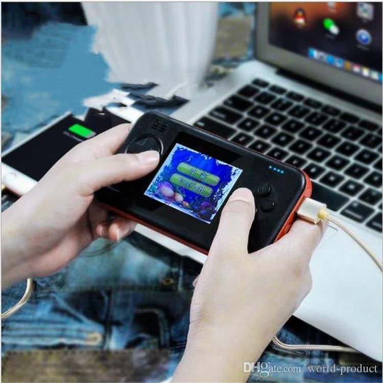 Game player design 8000mAh mobile power supply Dual USB charging External Backup Battery Chargers for Cell Mobile Smart Phone