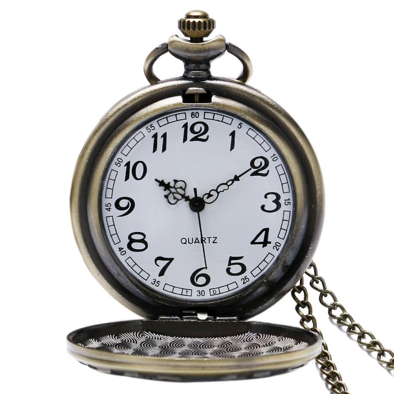 9dc108d16a3e Watch Candy Steampunk Bronze Quartz Pocket Watch Never Forget U.S. Veteran Vintage  Necklace Pendant For Women Men Fashion Birthday Gifts Cool Watches Swiss ...