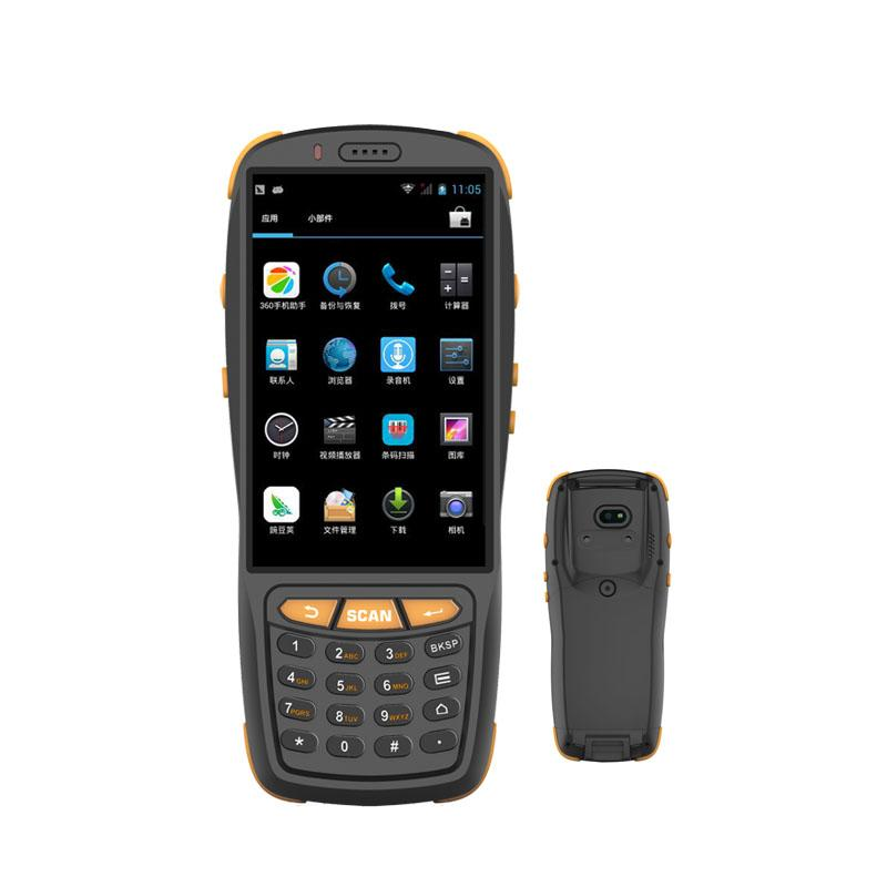android handheld pda with 1d 2d barcode scanner qr code scanner 5mp camera