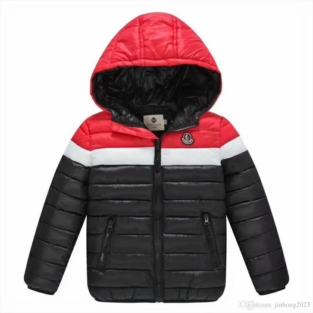 29cf8ec792660b Acquista Winter2019 Nuova Giacca Nuova Venuta Marca Con Cappuccio Bambini  Ragazze Inverno Cappotto Manica Lunga Antivento Bambini Giù Cappotto  Outwear Caldo ...
