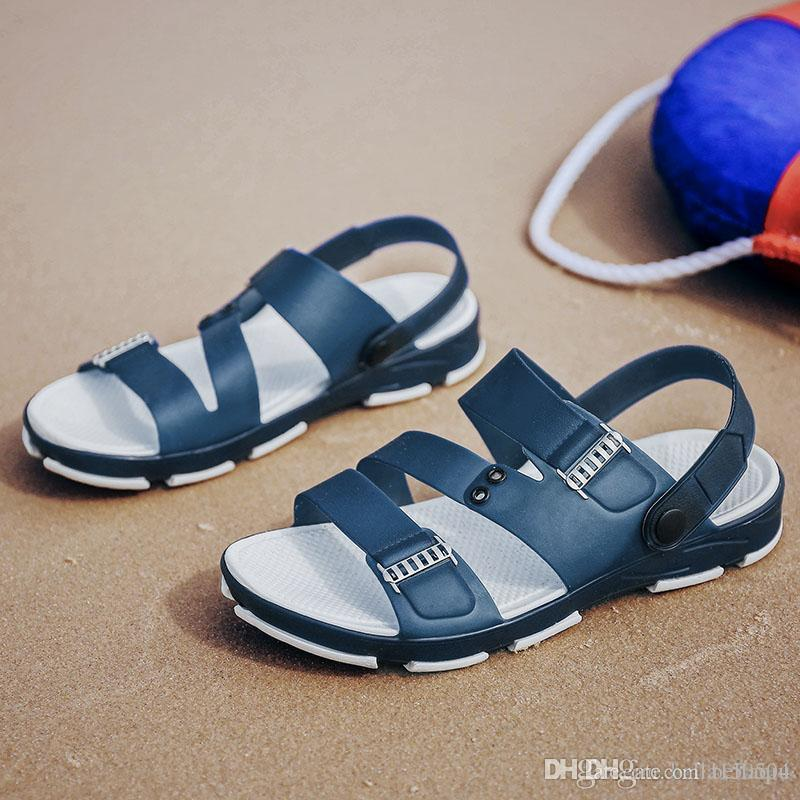 44345ddda82091 Hot Sale Luxury Slippers Designer Flip Flops For G Men S Causal Men High  Quality Leisure Sandals Summer Outdoor Beach Sandals Grey Boots Boots Shoes  From ...