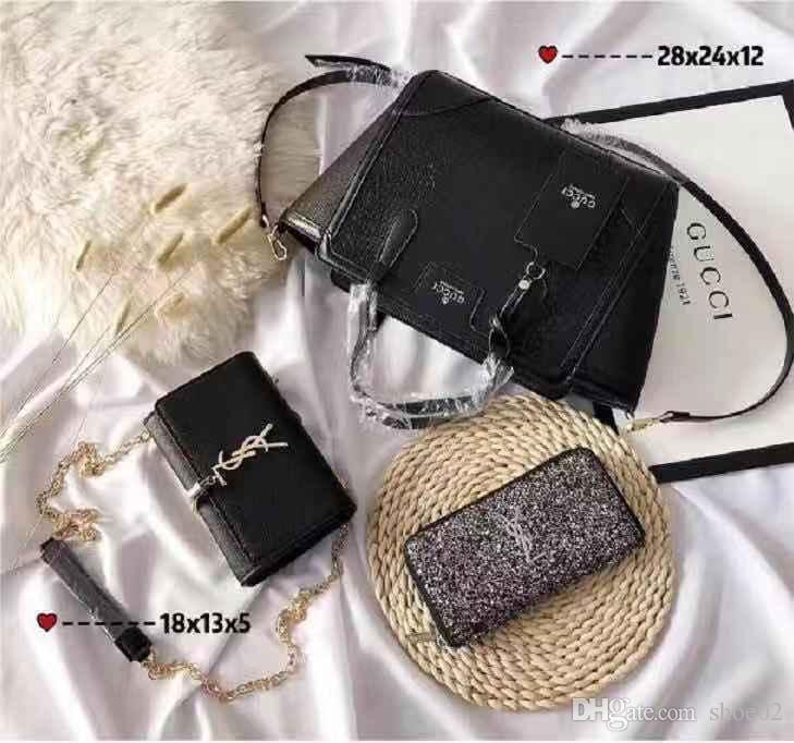 c31697d5e43d Package3 Bags Brand Bag Paris Brand Real Leather Handbag Designer Shopping  Bag Shoulder Bag Fashion Clutch Bags Wallet Purse Free DHL 08 Handbag  Brands ...