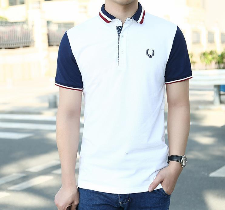 Mens Casual Polos Shirts Summer Perry Designer Turn Down Collar Tees Hombres Polo