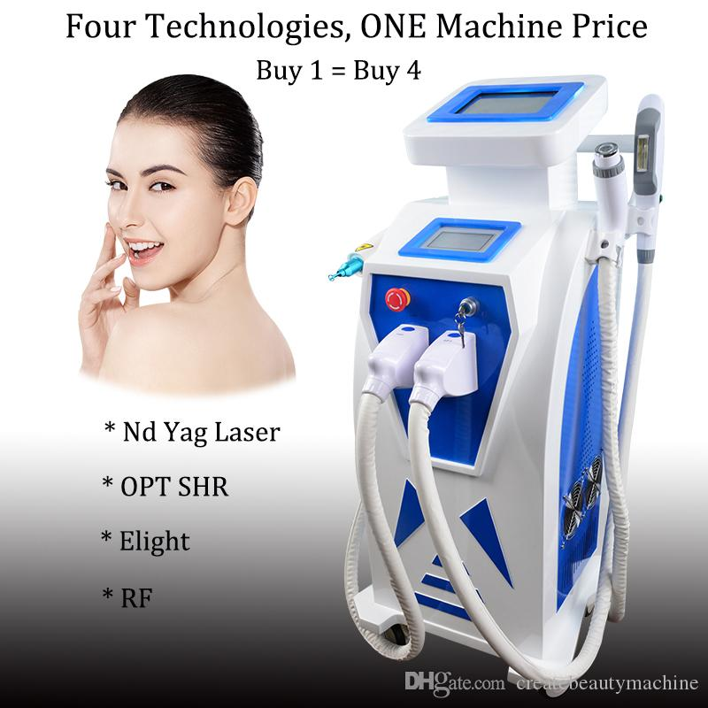 Elight hair removal machine opt ipl shr super hair removal ND YAG Laser Tattoo Pigment Removal 1064nm 532nm Machine