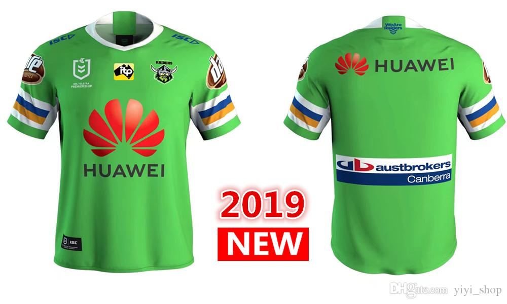 2019 2020 New CANBERRA RAIDER S Home Rugby Jerseys NRL National ... 6a554a4e2