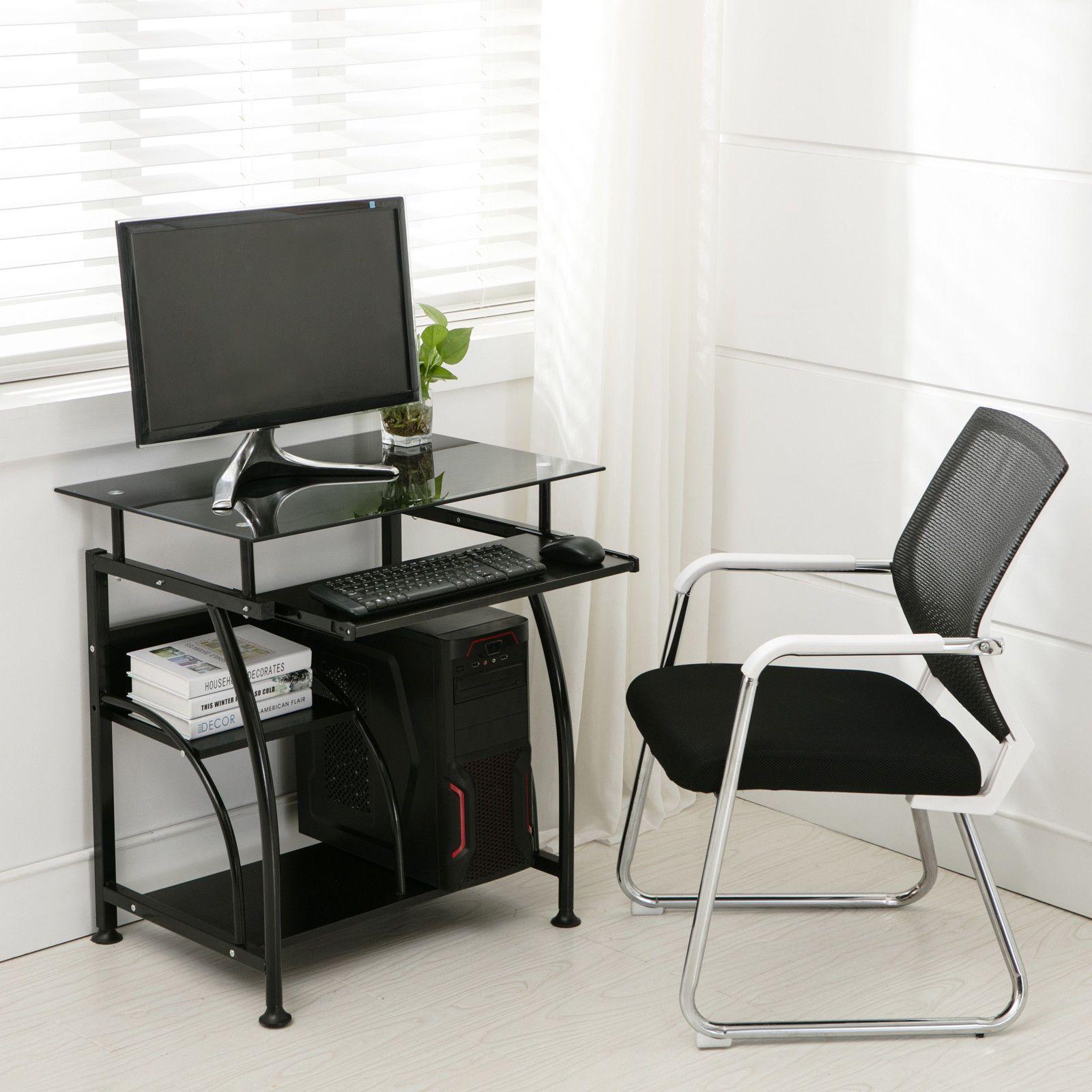 2019 Home Office PC Corner Computer Desk Laptop Table