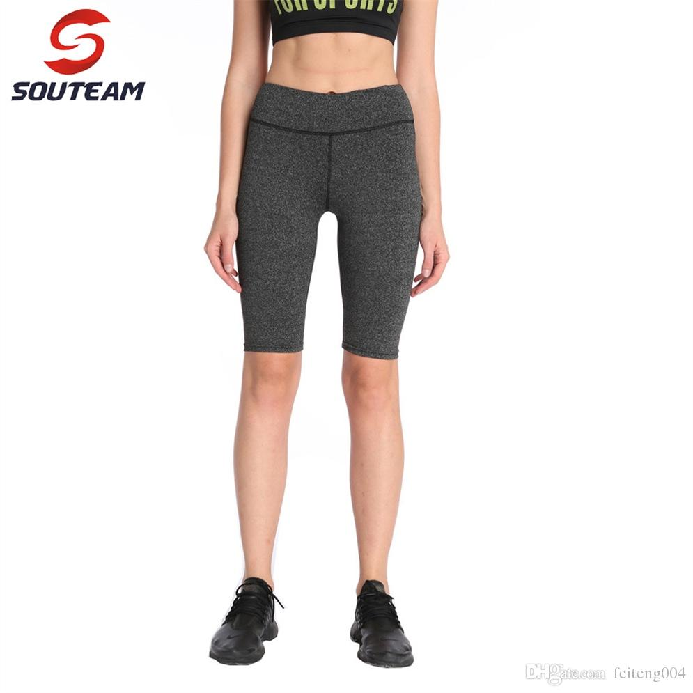 9f2696870ba25 2019 Souteam New Sale Yoga Pants Sports 2019 Sexy Tall Waist Stretched Gym  Clothes Spandex Running Tights Women Leggings Fitness #764146 From  Feiteng004, ...