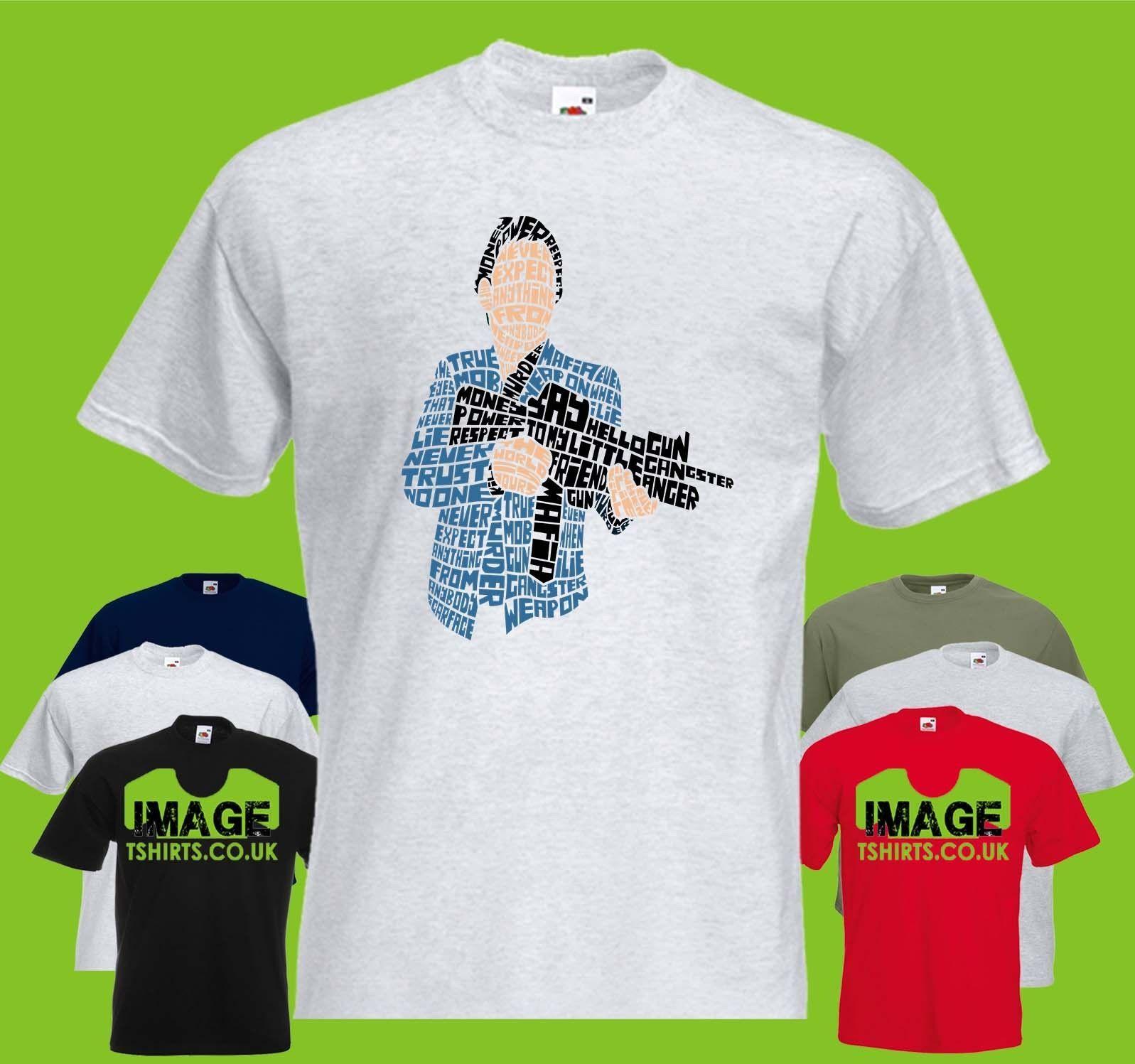 Mafia Text Mens PRINTED T SHIRT Gun Respect Power Money Trust Fun Tee Shirts  Silly T Shirts From Happytshirt53,  11.58  DHgate.Com 352656b3a135
