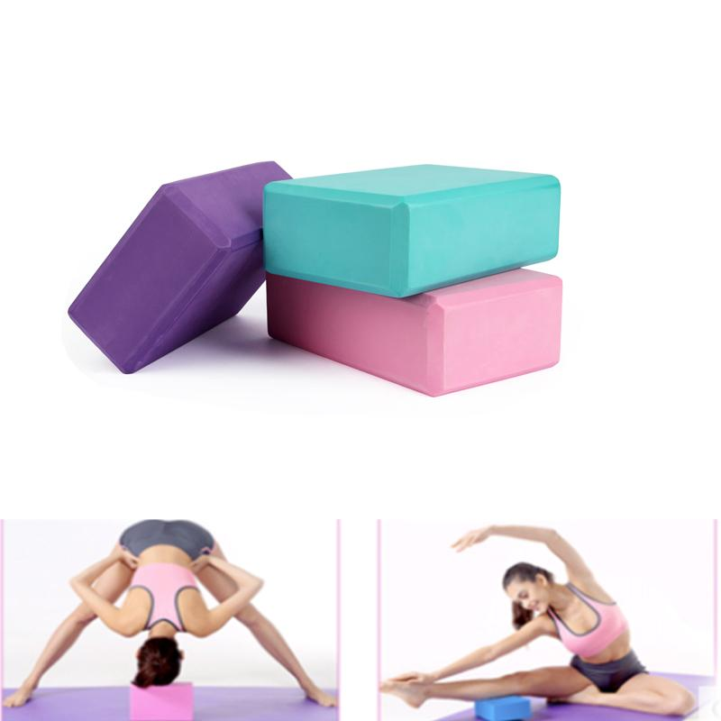1 Pcs Fitness Yoga Block Foam Foaming Block Brick Exercises Tool Workout Stretching Aid Body Shaping Health Training