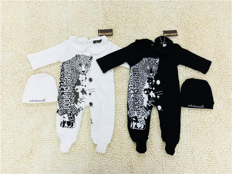 9af9320ecd0dc 2019 New Baby Rompers Baby Boy Clothes Romper Cotton Newborn Baby Girls  Clothes Infant Jumpsuits Kids Clothes Black White From Zhenpai3, $31.16 |  DHgate.Com