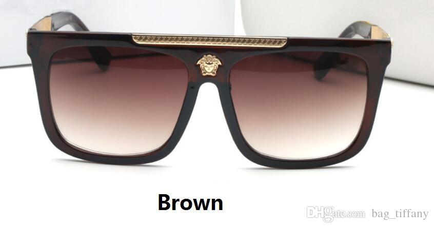 27b9d2d413 New Popular Fashion Super Beautiful Sun Glasses Women Retro Sunglasses Men  Outdoor Drive Goggle Large Frame Glasses Female Brown And Box Prescription  ...