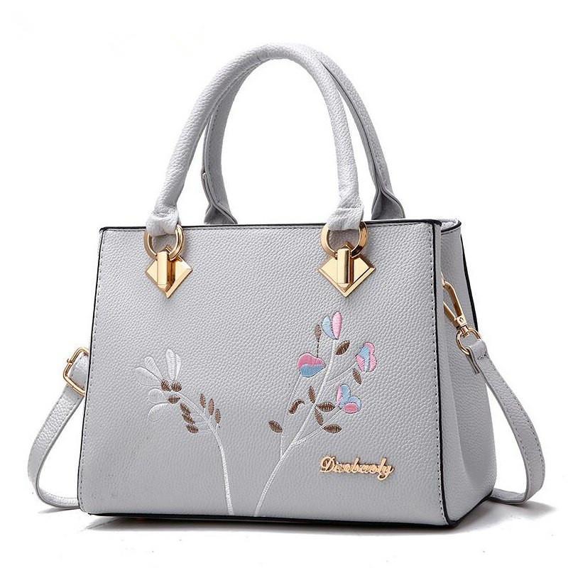 b12dc60ebc04 New 2019 Messenger Bags Women Handbag Flower Women Shoulder Bags Women Pu  Leather Tote Bag Ladies Bags Brands Totes Sac A Main Handbags Brands Hobo  Handbags ...
