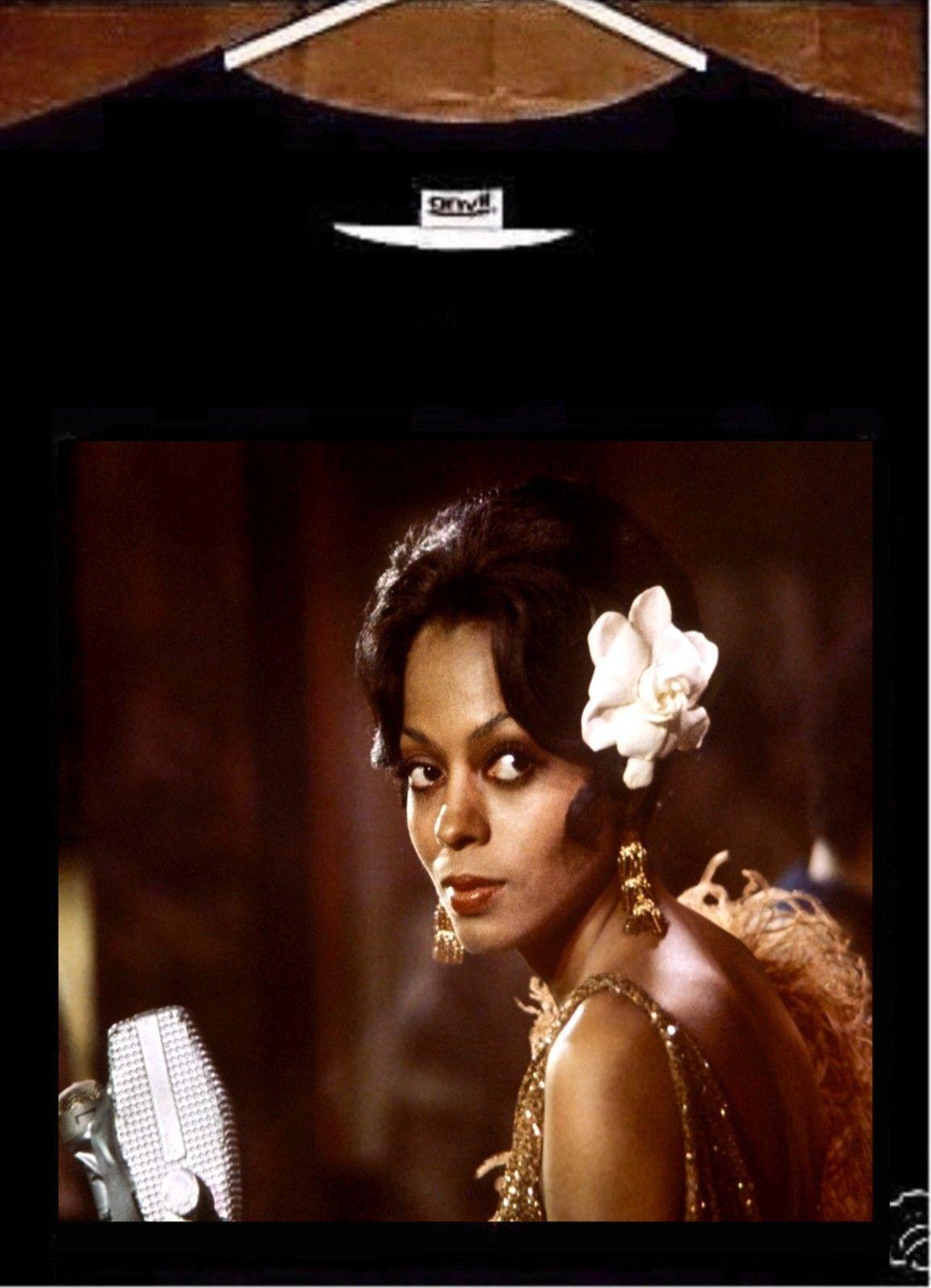 595f020bdff40 Diana Ross T shirt; Diana Ross Lady Sings The Blues Tee Shirt free shipping  Unisex Casual gift