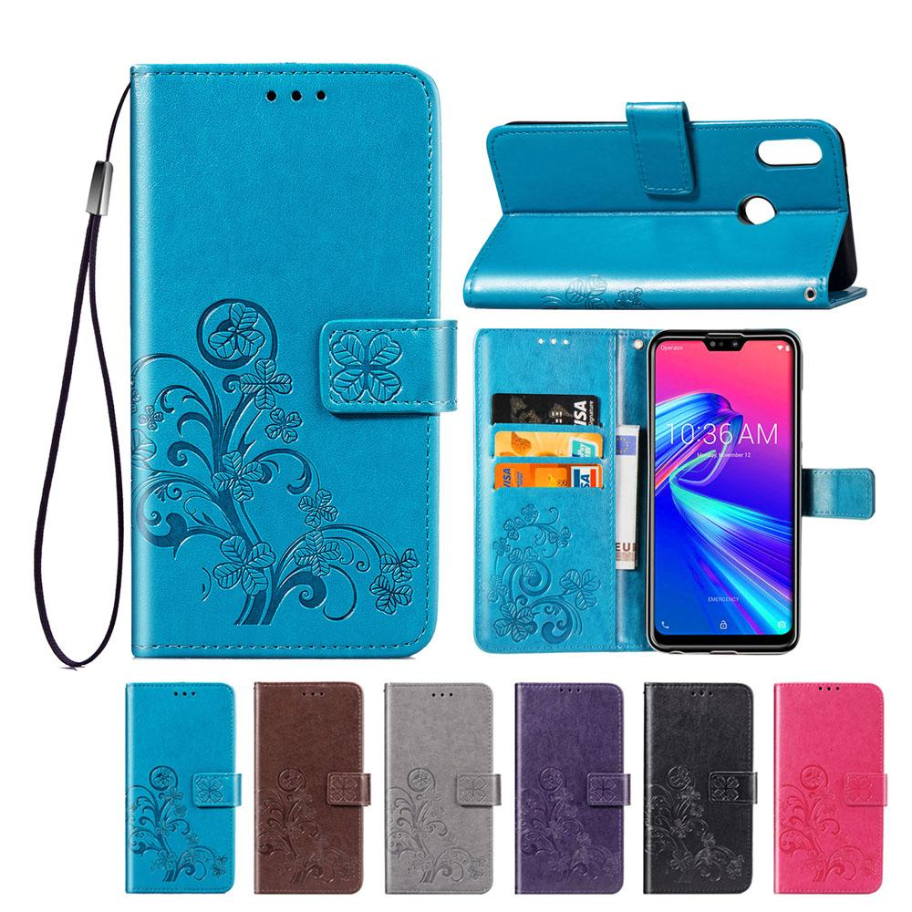 timeless design 696f4 fbc22 For Asus Zenfone Max (M2) ZB633KL ZB631KL ZC520TL ZC554KL ZE520KL Wallet  Case PU Leather Flip Magnetic Cover with Card Pocket
