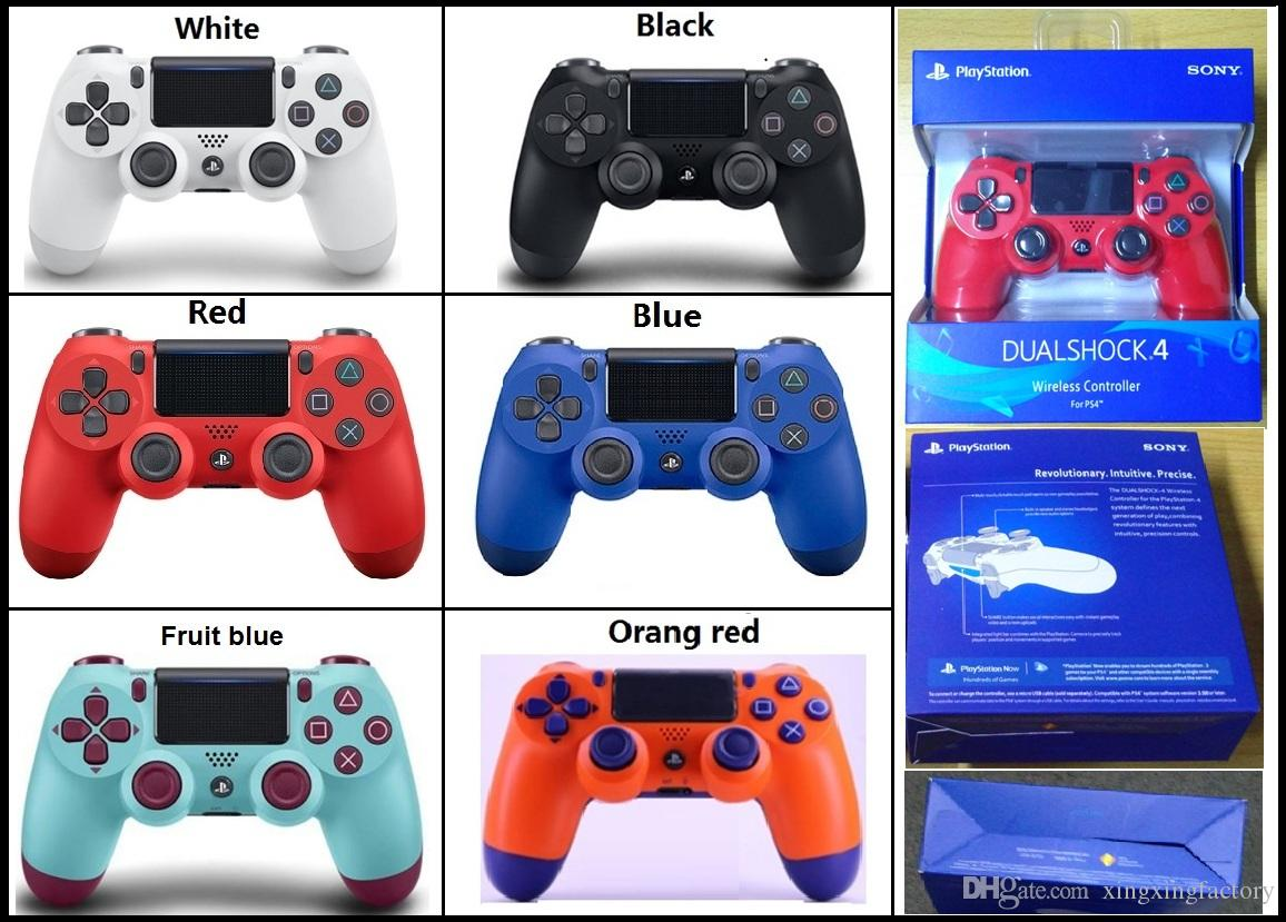 Favorite PS4 Wireless Game Controller for PlayStation 4 PS4 Game Controller Gamepad Joystick Joypad for Video Games high quality