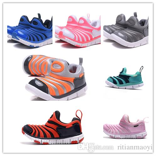 39daf699cfd4 With Box Unisex Kids Dynamo Free Running Shoes for Boys Sneakers ...
