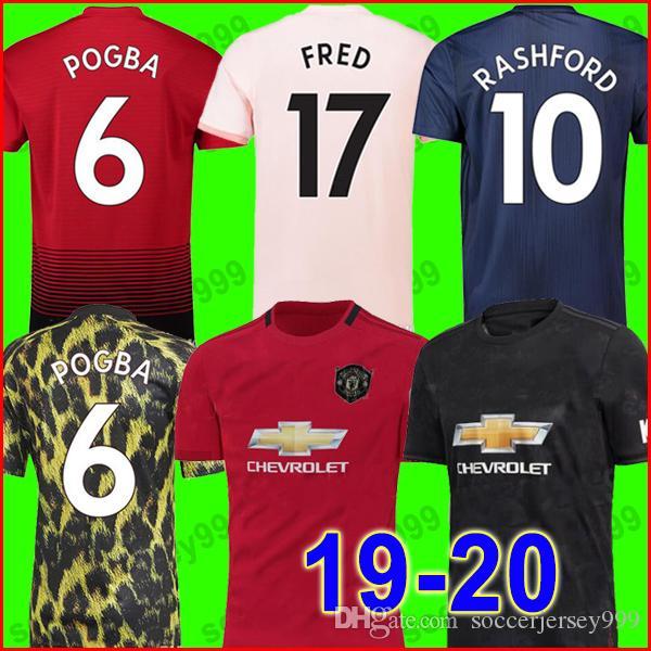 92d8e9327ce04 Compre Tailândia FC Manchester United Soccer Jerseys Football Shirt ...