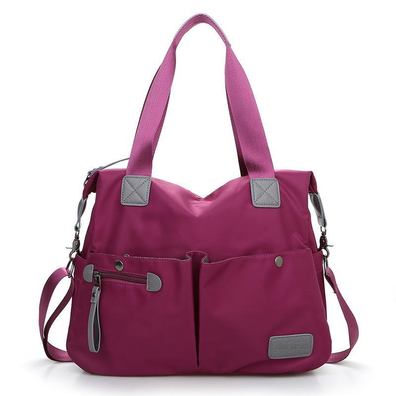 2d0a7f889 Compre Top Handle Bag Bolsas De Ombro Mulheres Messenger Bags Designer De  Nylon Feminino Praia Ocasional Tote Bolsa Sac Femme Bolsa De Keeping04, ...