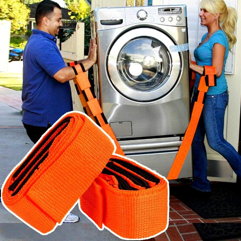 Weight Lifting Moving Wrist Straps Forearm Forklift Delivery Transport Rope Belt Home Furniture Carry Tools