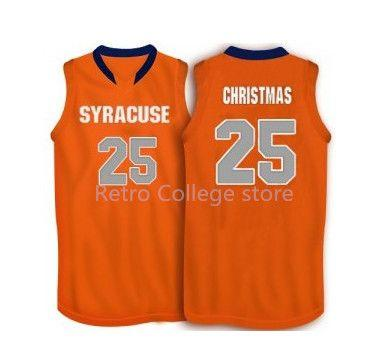 2019 25 Rakeem Christmas Syracuse Orange Basketball Jersey