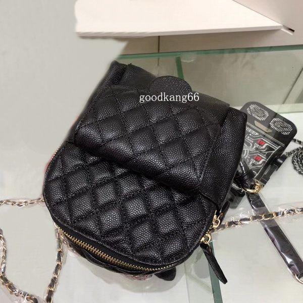 Hot Sale Fashion Design Women High Quality Handbag Leather Shoulder Bag  Golds Chain Messenger Bag Mini Backpack Backpack MINIBackpack Online with  ... 6e1c2d25cfd25