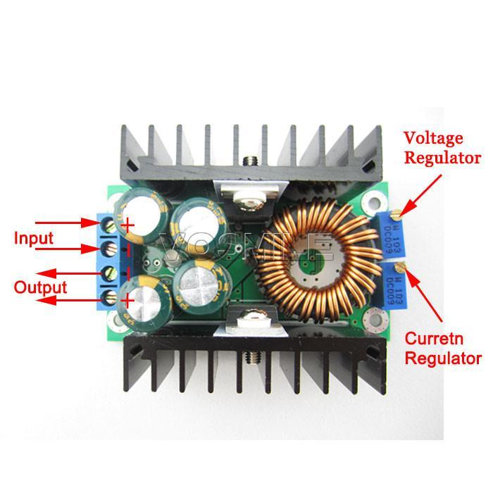 DC-DC Buck Converter 8A 24V to 12V LED Driver Constant Current Charging Module 7-40V to 1.2-35V Buck Power Module #200395