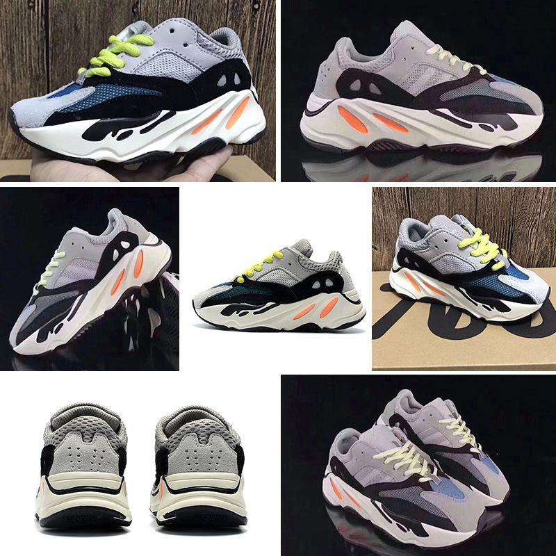 best website 3cdb0 6d50b adidas Yeezy Wave Runner 700 baskets pour enfants Kanye West Wave Runner  700 Chaussures de course Enfants 700 Sports chaussures de tout-petit Casual  ...