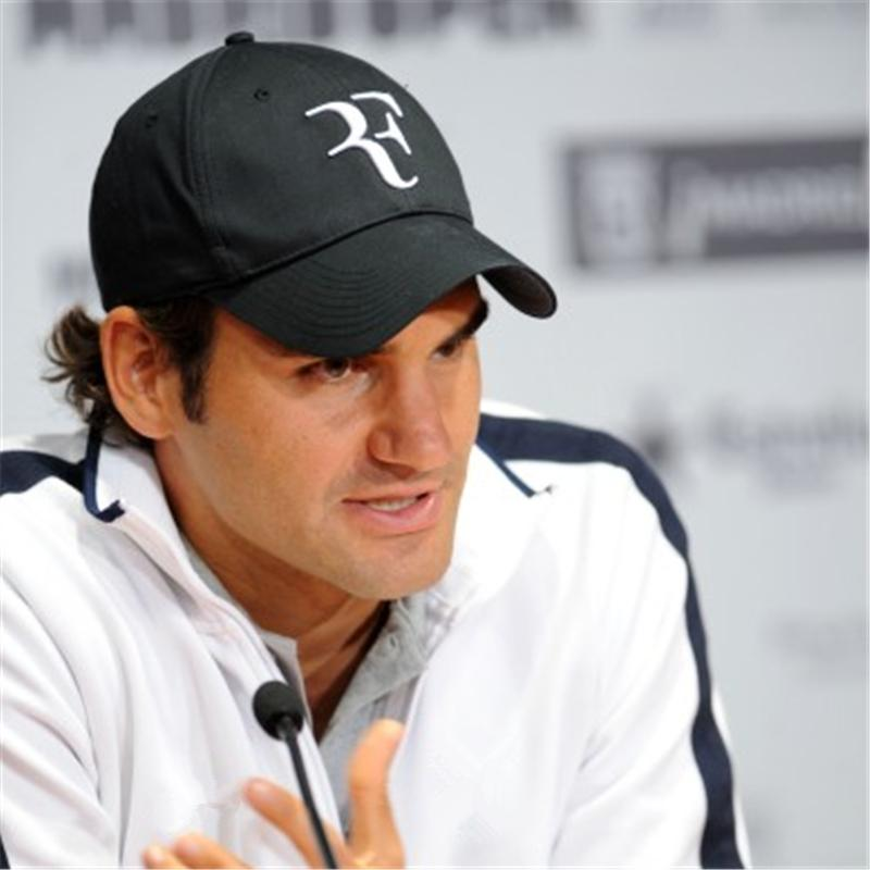 b205772dab8 2019 Tennis Star Roger Federer Dad Hat Sport Baseball Cap 100% Cotton 3D  Embroidery Unisex Snapback Caps Tennis Hat F Hats Embroidered Hats Leather  Hats ...