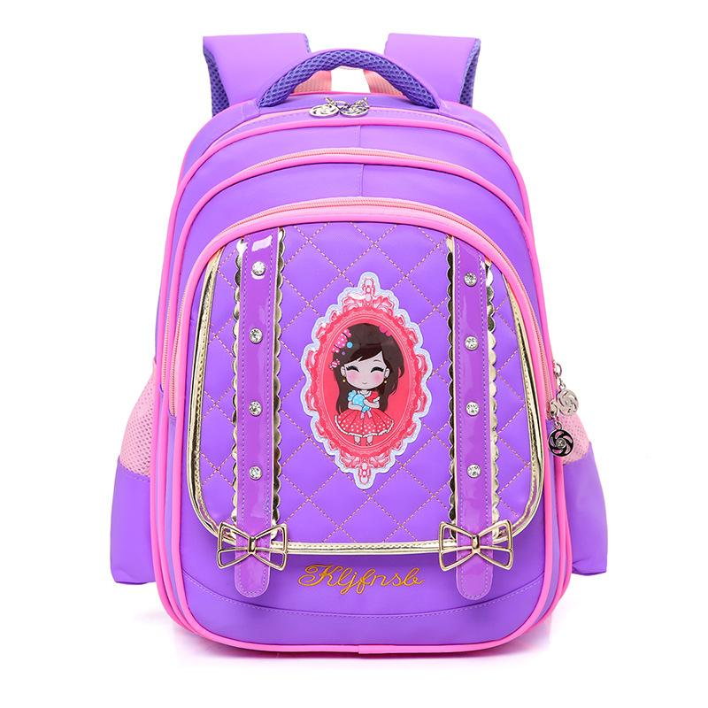 New Children School bags for Girls Primary School Book Bag Sac Enfant Children Schoolbags Printing Backpack Orthopedic Backpack