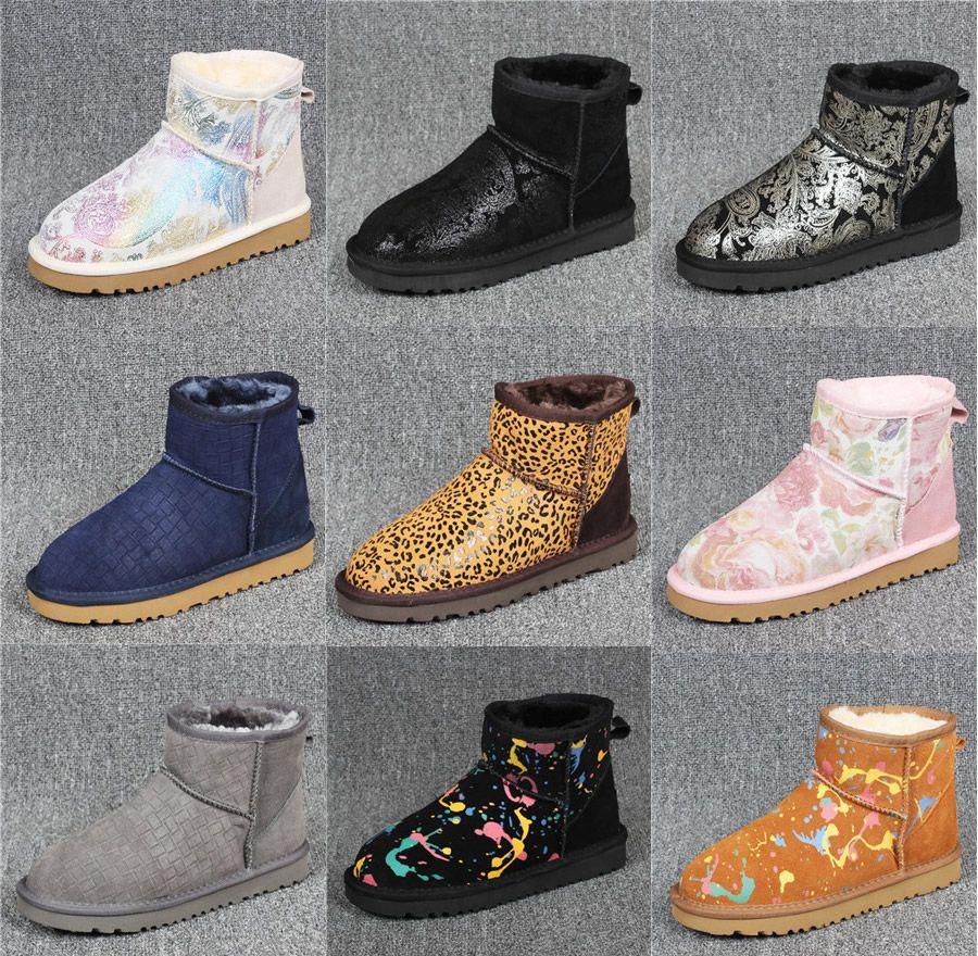 Women Boots Australian Boots Ug Women Snow Boots Bling Sparkles Winter Warm  Outdoor Boot Shoes Luxury Brand Ivg Women Boots Women Winter Boots Women  Snow ... f142b0d6230a