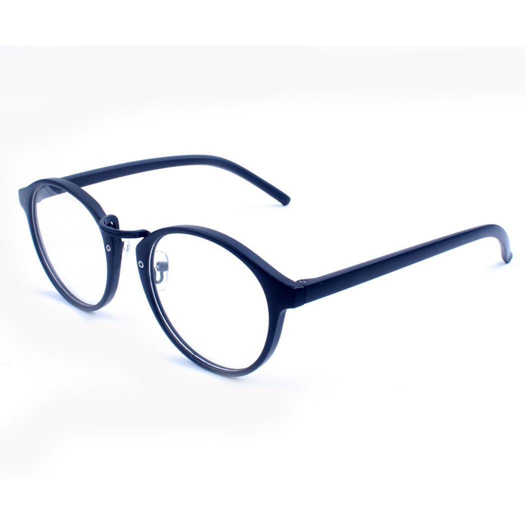 a7b0238e6b Compre Hombres Mujeres Gafas Nerd Gafas Con Lentes Transparentes Gafas  Redondas Retro Espectáculo 1 X Vintage Y A $35.25 Del Marquesechriss    DHgate.Com