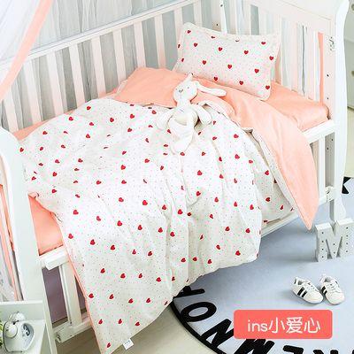 New Design Baby Bedding Set Detachable Cotton Crib Bed