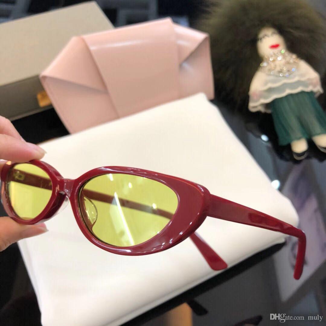 76e7095cba Compre Gafas De Sol De Estilo CHARMA FbrandE De Lujo Para Hombres, Mujeres,  Mareas De La Serie Tide, Ojos De Gatito. A $143.14 Del Muly | DHgate.Com