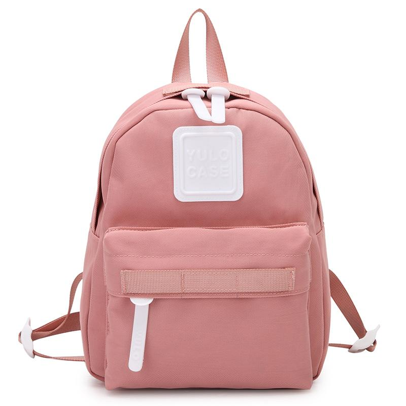 3fed9c6ac5 Fashion Style Women Mini Backpacks Cute Little Woman Of Waterproof Nylon  Backpack School Bag For Adolescent Girls Female Bags Leather Backpacks One  Strap ...