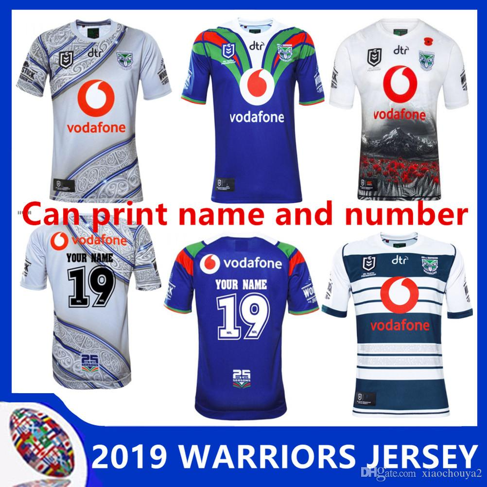 a0c97b8a 2019 NEW ZEALAND WARRIORS 2019 INDIGENOUS JERSEY WARRIORS 2019 ANZAC ...