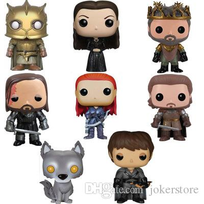 Funko Pop Game of Thrones Petyr Baelish Sansa Stark Sandor Clegane Ramsay Bolton Anime Figure Hot Toys Doll Hot Sale New Arrvial