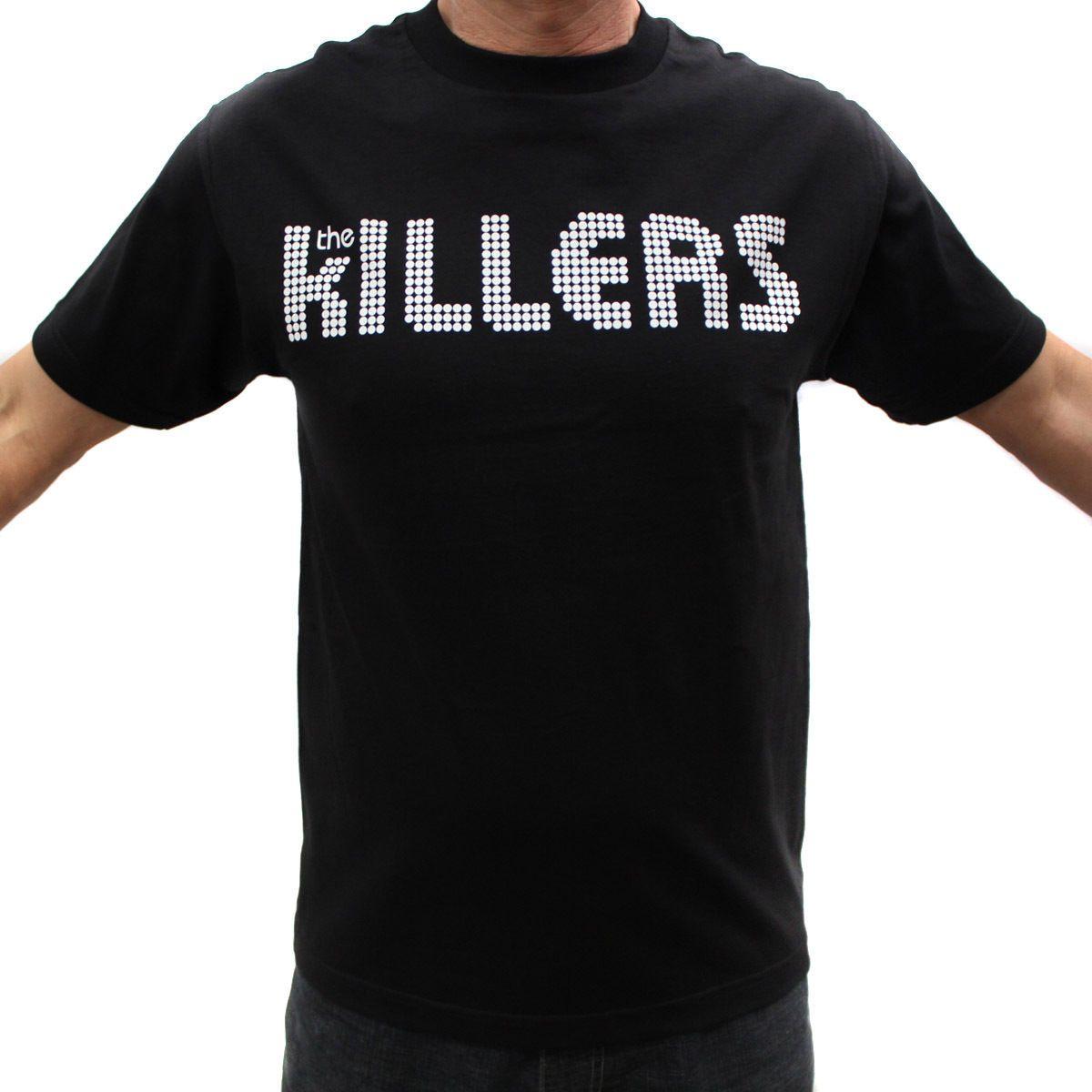 79d7e5a1294cd Compre The Killers Rock Band Graphic Camisetas A  10.36 Del Tataiskanda