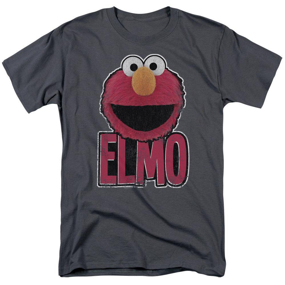 737d40dd3 Sesame Street Elmo Smile Licensed Adult T Shirt Men Women Unisex Fashion  Tshirt White T Shirt Design T Shirt Deals From Designtshirts201809, $13.91   DHgate.