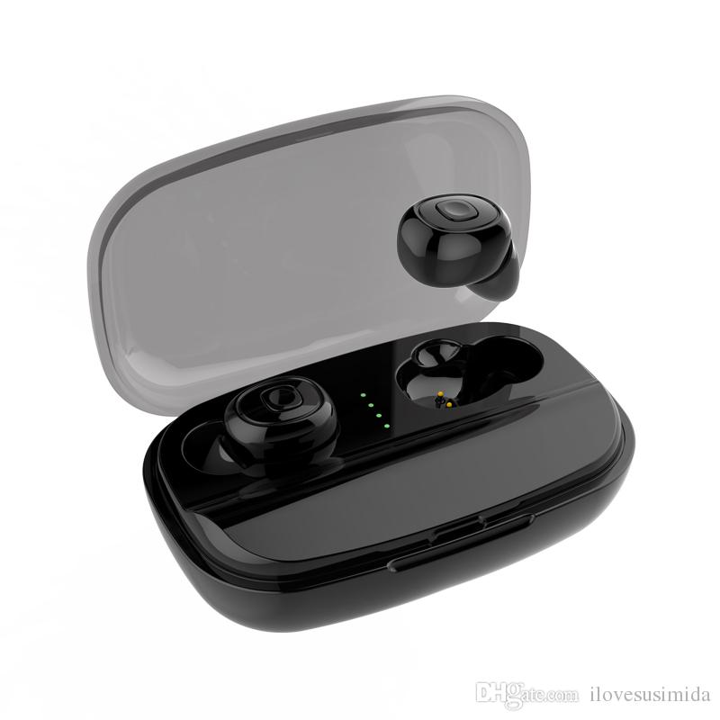 TWS Wireless Bluetooth Headphones Stereo Headset Automatic pairing siri True HIFI Sport Earbuds In Ear Earphones For Cell iPhone Android PK