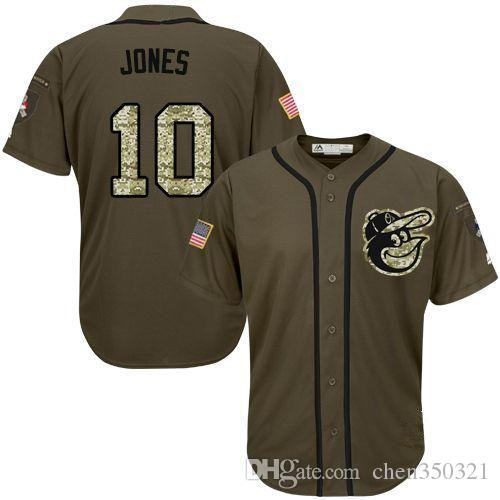 75afc5ef297 ... promo code for 2019 7 styles mens atlanta braves majestic cool base 10  adam jones jerseys