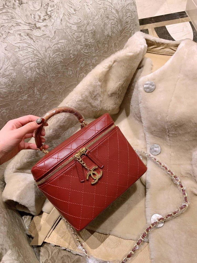78f1c39c89f4 Original 2019 AAAAA Luxury Famous Brand Designer Handbags Handbag Sac À Main  Make-up Case Box Cosmetic Bags Bag Shoulder Purses 11813 High Waist Hole ...