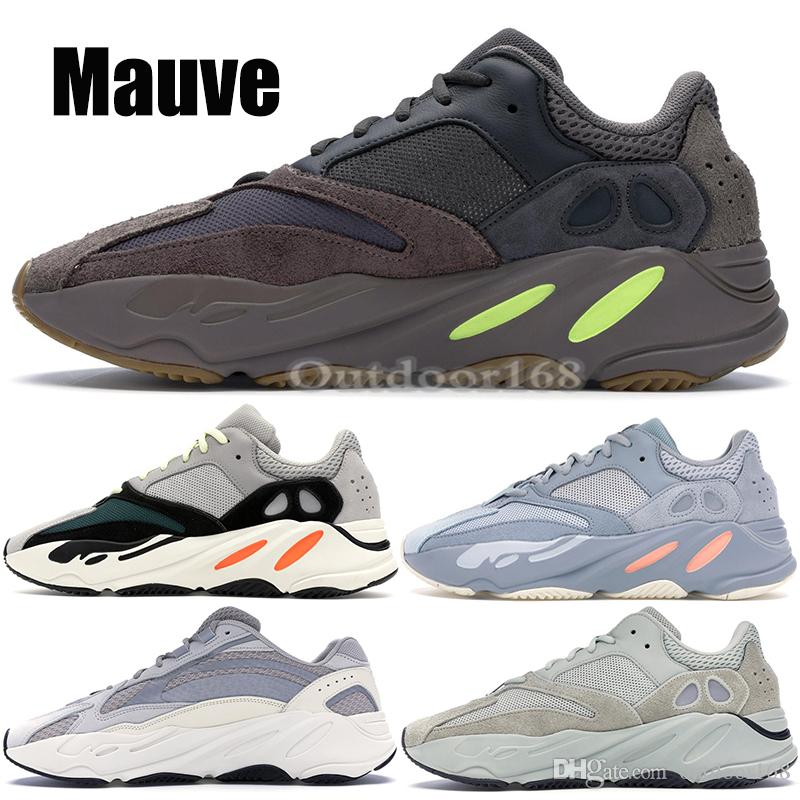 13c1066a2aa2af 2019 700 Wave Runner 2019 Kanye West Running Shoes Inertia Salt Static Mens  Womens Designer Sneakers Sport Shoes With Box US 5 11.5 From Outdoor168