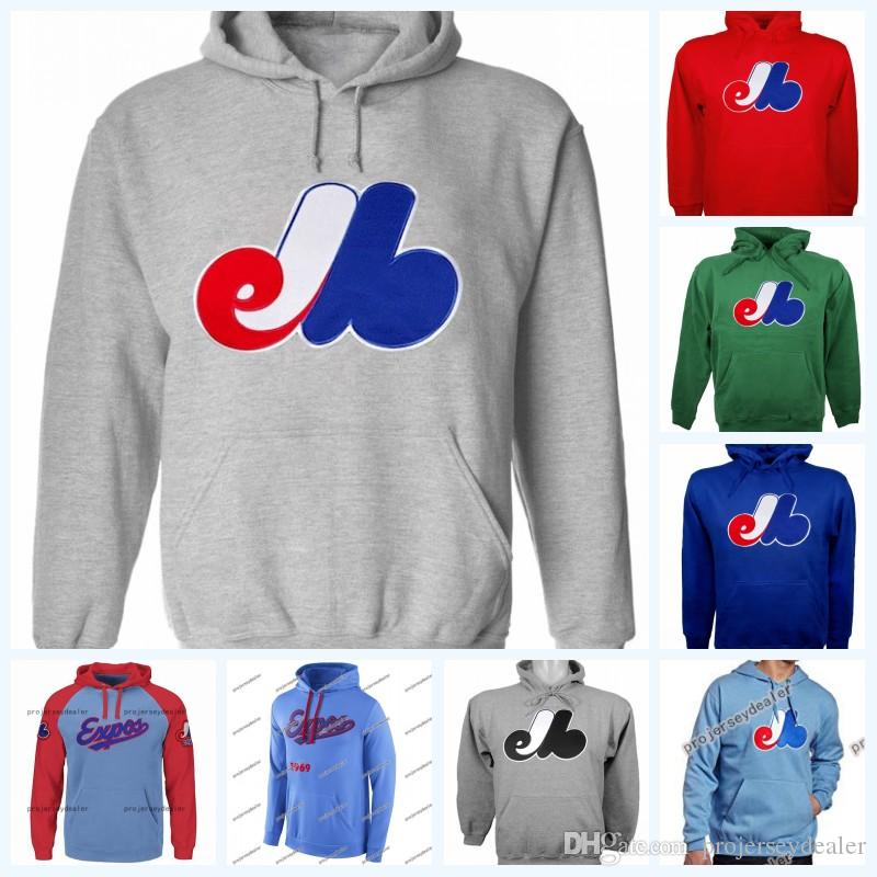 5d6f415ec47 2019 Montreal Expos Baseball Hoodies For Mens Womens Youth Baseall Jersey  Customized Any Name   Any Number High Quailty From Projerseydealer