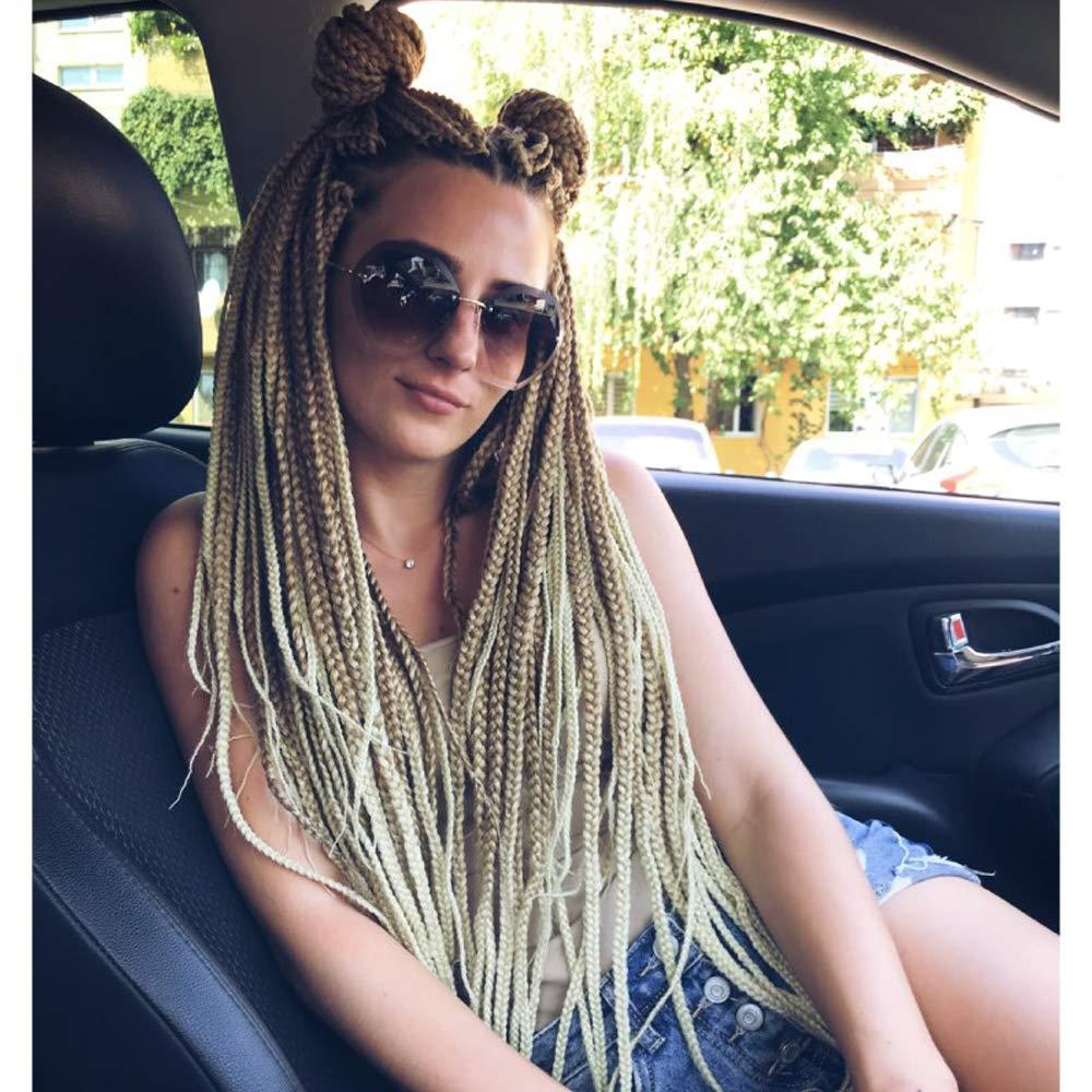 2019 Hot Sale Womens Fashion Box Braid Style Crochet Hair 18 Inch